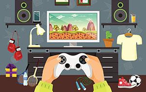 console platform game