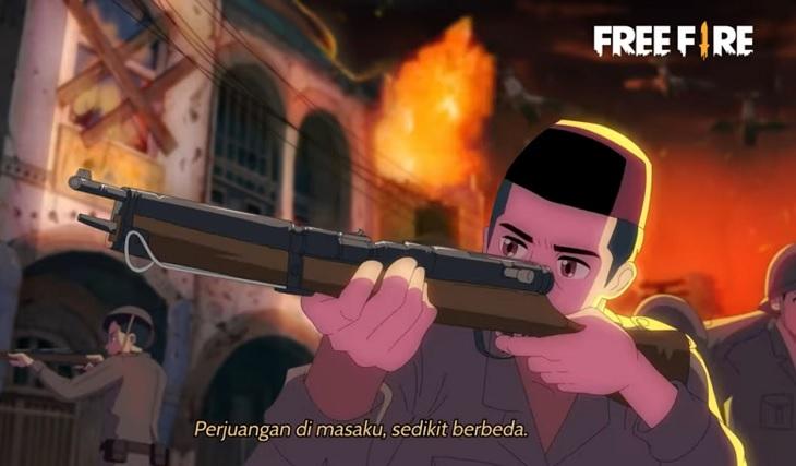 free fire indonesia rayakan kemerdekaan