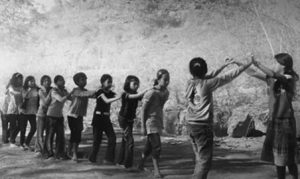 permainan tradisional sunda oray-orayan